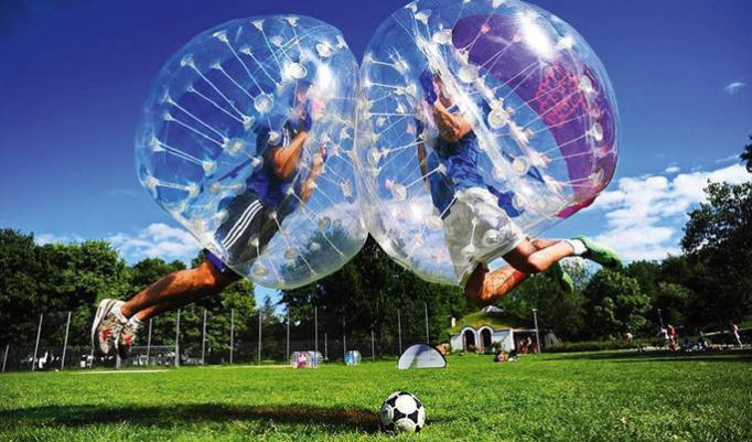 Bubble Soccer in Manching